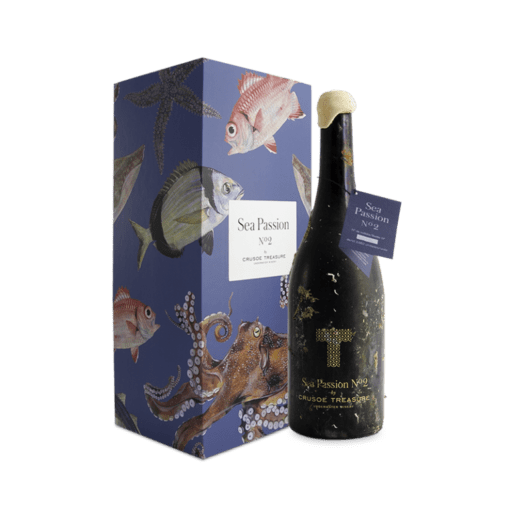 Sea passion 2 tinta fina ribera del duero vino submarino crusoe treasure
